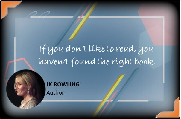 J.K.Rowling's Quote About Book